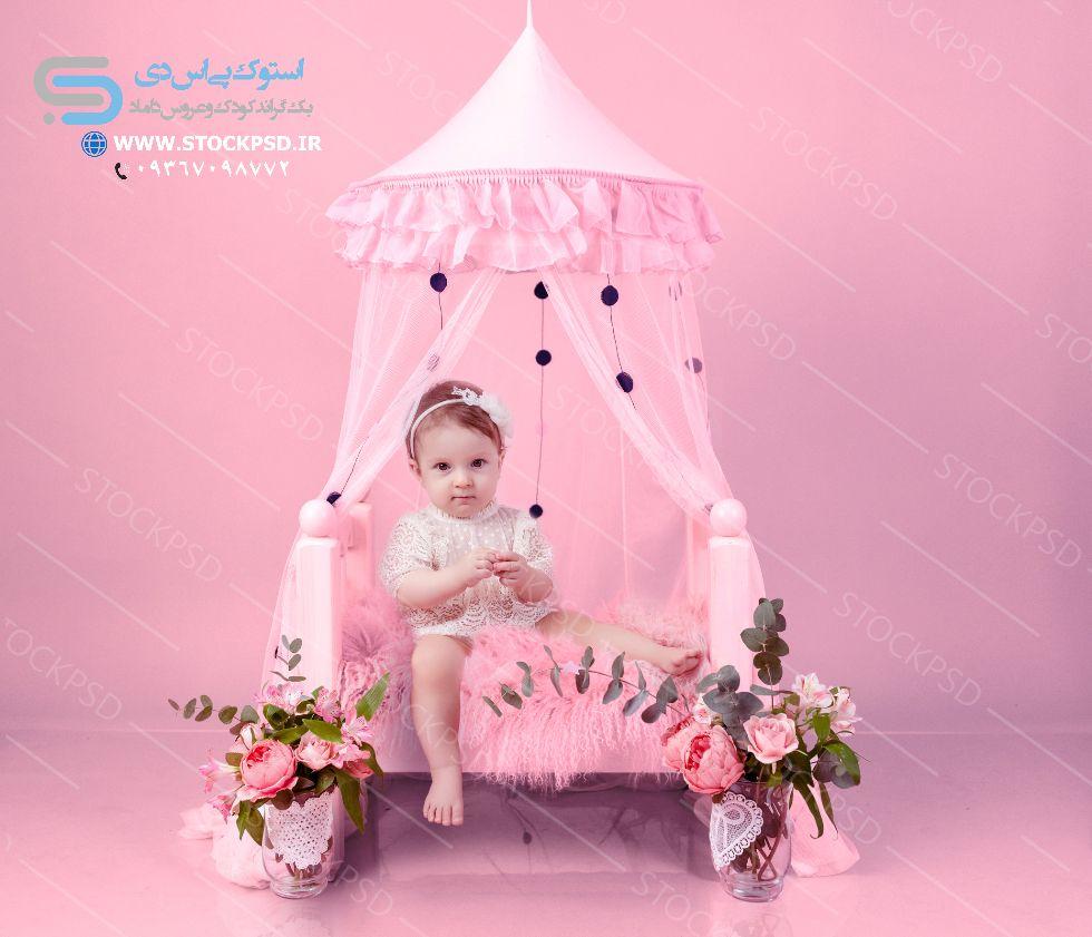 دکور عکاسی نوزاد