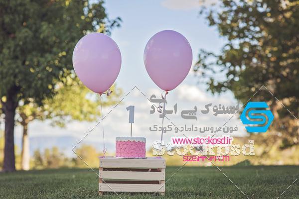 بکگراند جشن تولد