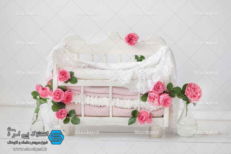 بکدراپ جدید و زیبا برای طراحی عکس نوزاد