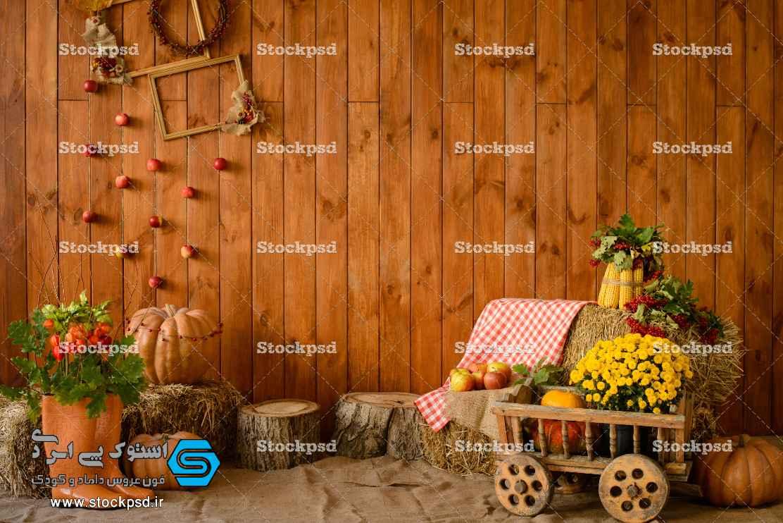 بک گراند پاییز مخصوص آتلیه