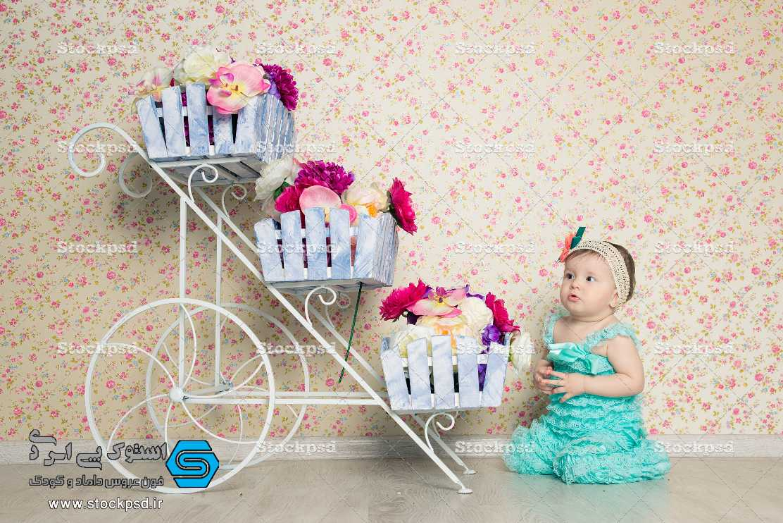 بک گراند با کیفیت آتلیه برای طراحی عکس کودک