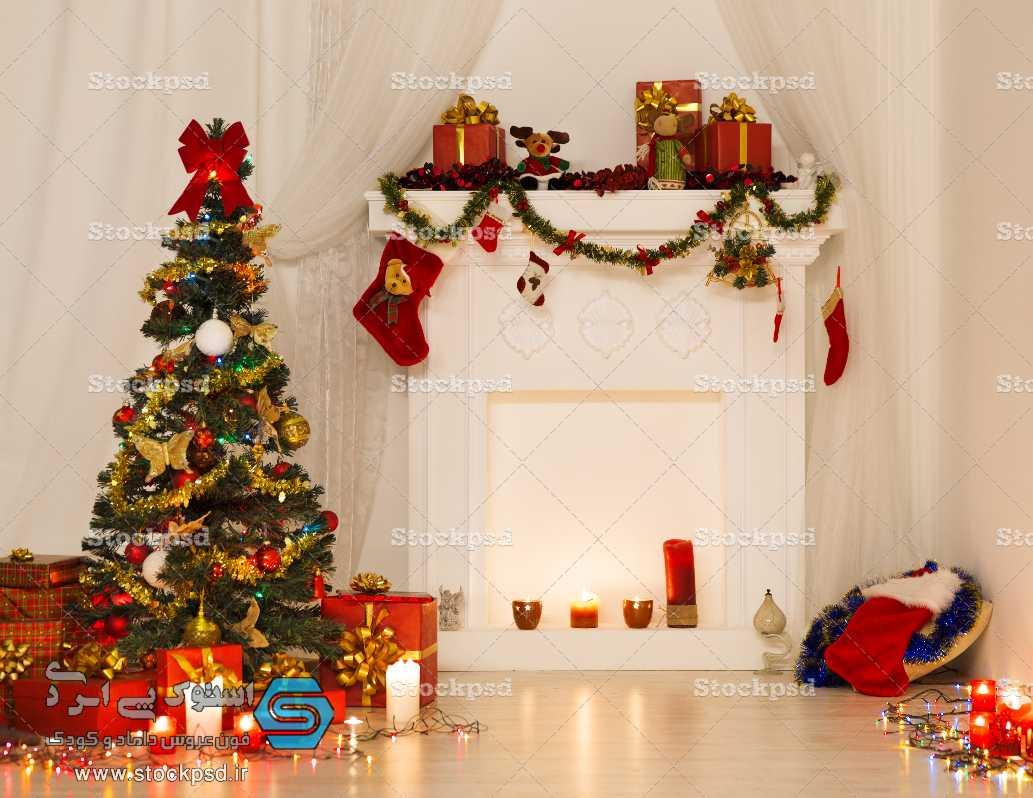 پس زمینه آتلیه کریسمس
