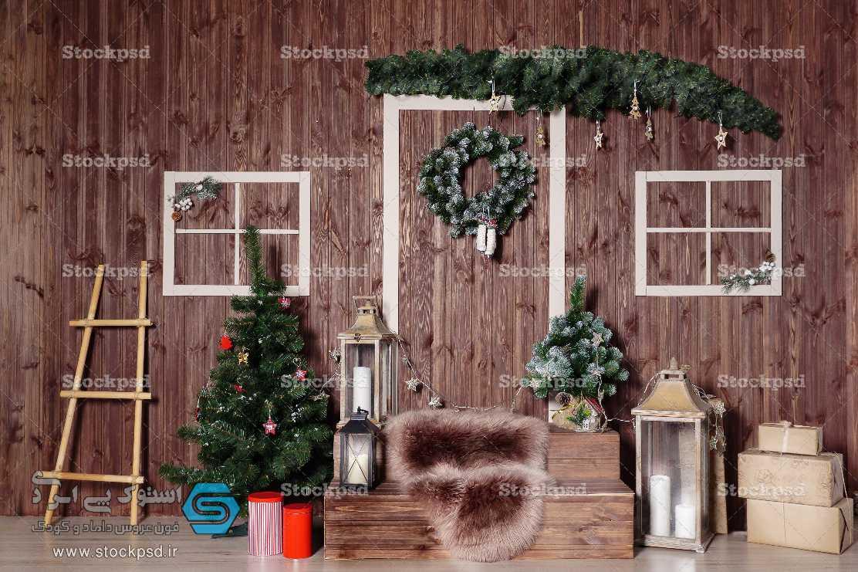 بک گراند تم تیره کریسمس