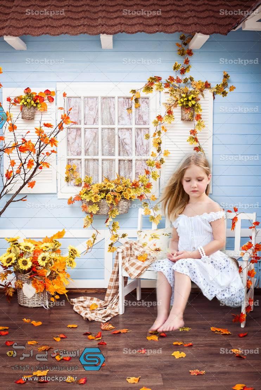 بک گراند عکاسی طراحی عکس پاییز