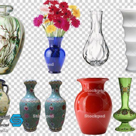 گلدان سفالی برای طراحی