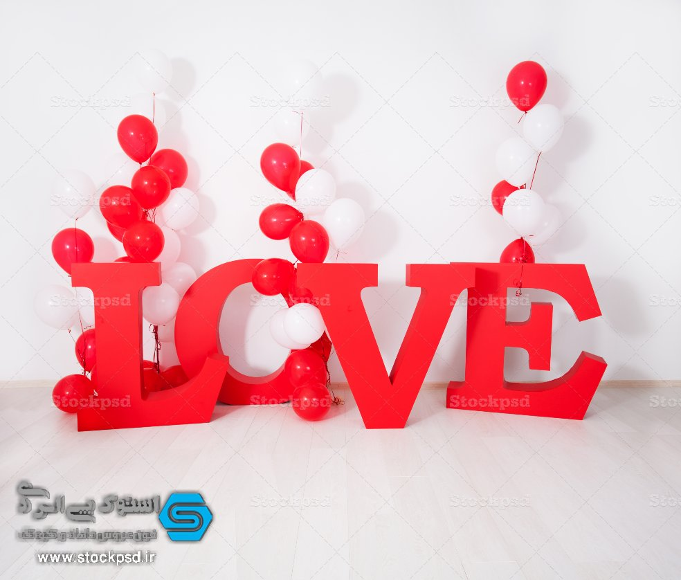 بک گراند روز عشق