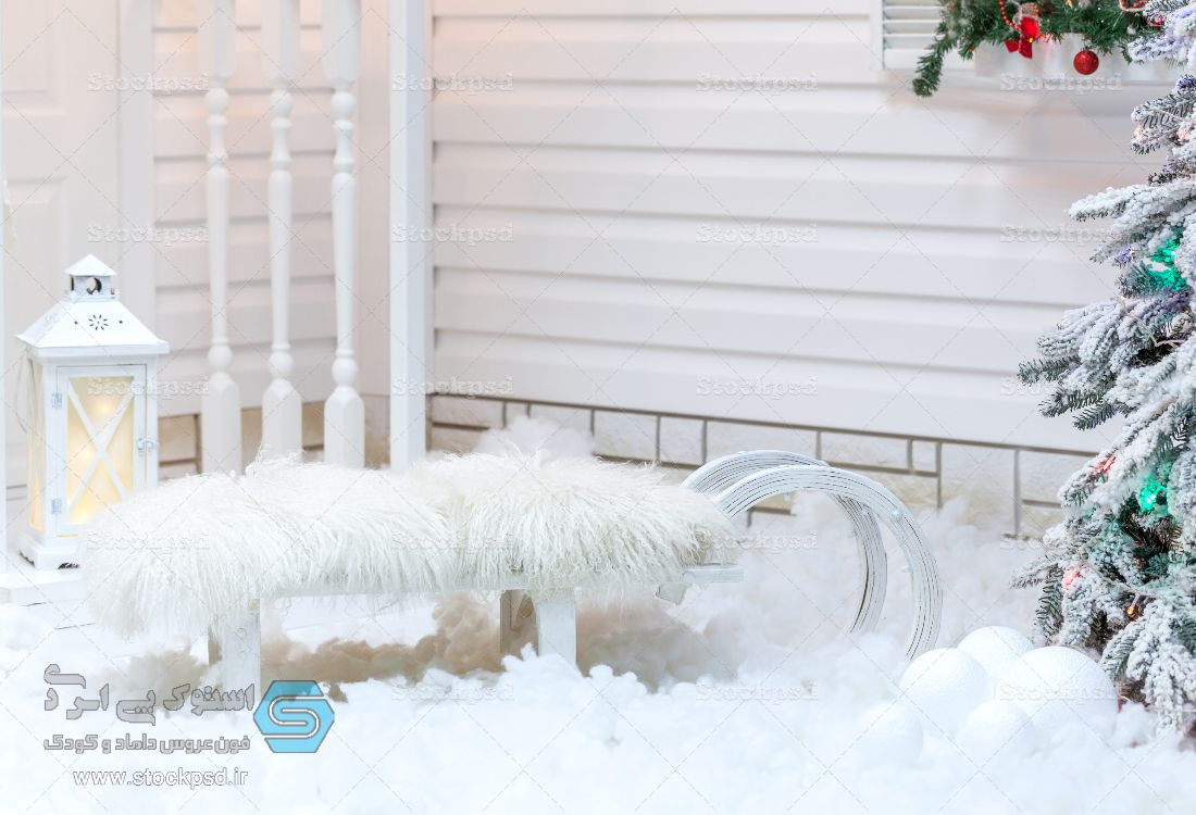 عکس آتلیه زمستان