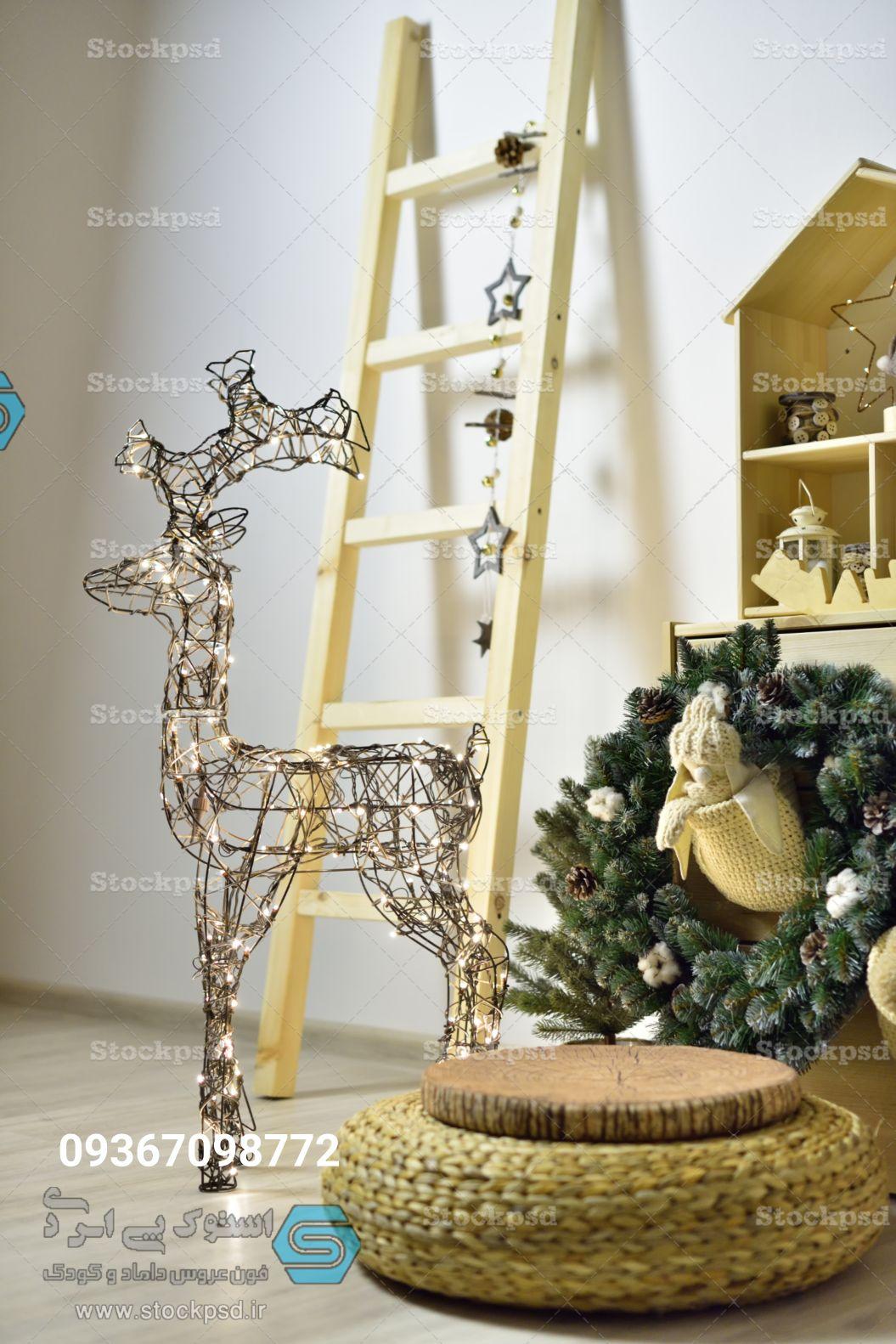 طراحی عکس کریسمس آتلیه