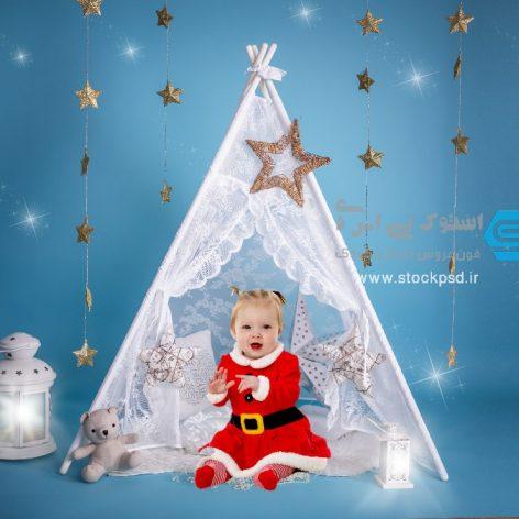 بک گراند طراحی عکس کریسمس کد : ۹۸۹۲۴