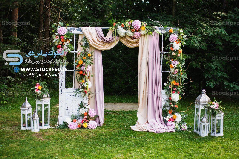 بک گراند باغ عروس