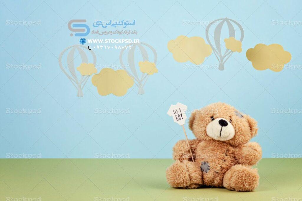 دانلود دکور خرس عروسکی عکاسی