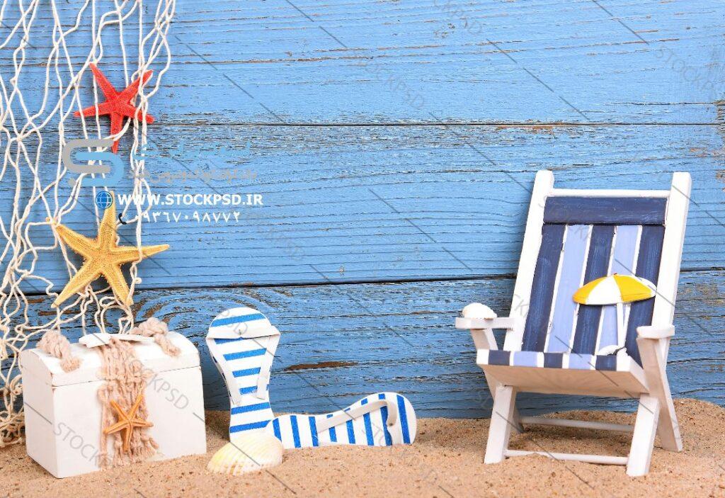 بک گراند ساحلی عکاسی